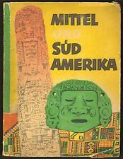 RARE CARD ALBUM - MITTEL UND SUED AMERIKA - 1952 - 98/98 CARDS + 1 DUPLICATE
