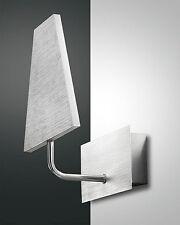 Lampada LED da parete FABAS LUCE Gipsy 3112-21-212 1x12 Watt massiccio ALLUMINIO