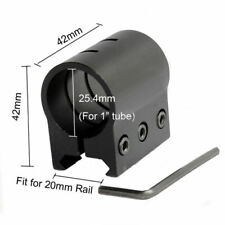 Tactical Laser Sight Rail Mount for 20mm Weave/Picatinny Rail Flashlight Mount