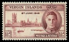 "VIRGIN  ISLANDS 88 (SG122) - King George VI ""Peace-Victory"" (pa17508)"