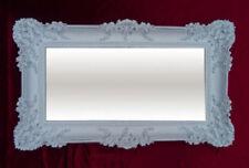 Miroirs modernes blancs rectangulaires pour la décoration intérieure