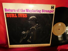 BURL IVES Return of the Wayfaring stranger LP AUSTRALIA 1960 VG+ Mono