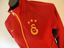 GALATASARAY OFFICIAL LICENSED TRAINING JACKET MENS MED RED NEW