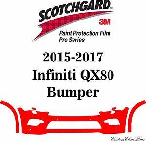 3M Scotchgard Paint Protection Film Pro Series Fits 2015 2016 2017 Infiniti QX80