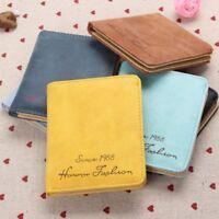 Vintage Fashion Female Women High Quality Money Bag Purse Wallet PU Leather