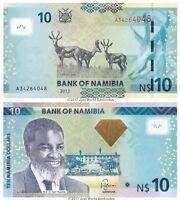 Namibia 10 Dollars 2013 P-11b Banknotes UNC