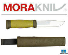 Morakniv Fixed Blade Knife Mora 2000 Outdoor OD Stainless Steel With Sheath