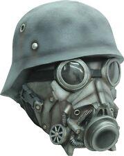 Chemical Warfare Steampunk Full Head Latex Mask Fancy Dress Halloween Adult