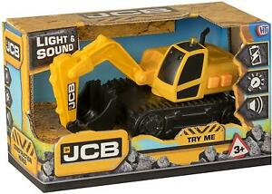 JCB Excavator With Light And Sound For The Little Builder Age 3+ For Kids