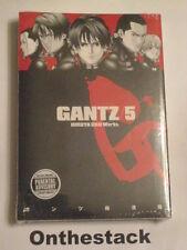 MANGA:    Gantz Vol. 5 by Hiroya Oku (2009, Paperback) Sealed!