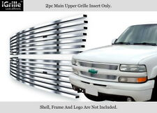 304 Stainless Steel Billet Grille Fits 99-02 Silverado 1500/00-06 Suburban/Tahoe
