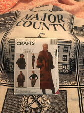 """Major County, Ok Decorative Throw 48"""" X 60"""" with pattern for jacket or skirt"""