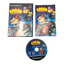 Crash: Tag Team Racing (Sony PlayStation 2, 2005) PS2 Complete With Manual CIB