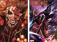 Marvel 2019 Captain Marvel 13 Brooks Main + In-Hyuk Lee Connecting Var NM+ 12-11
