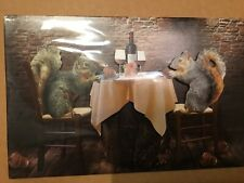 American Greetings Humor Anniversary Card Squirrels Dinner Nuts About Each Other