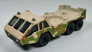Matchbox Military Camo Transporter Vehicle 1985 1:150 Diecast Vehicle Thailand