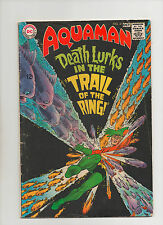 Aquaman #41 - Death Lurks In The Trial Of The Ring - (Grade 4.0) 1968