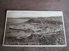Frith postcard - Mevagissey Harbour & coast line -  Cornwall