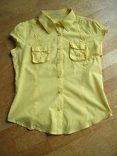 Bluse in gelb von Porta Fortuna in Größe M