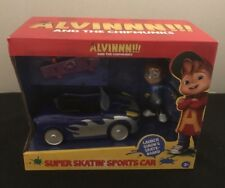Alvin! and the Chipmunks Super Skatin' Sports Car New and Factory Sealed
