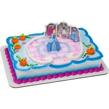 NEW DISNEY PRINCESS CINDERELLA CAKE TOPPER KIT (1)