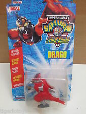 ROBOT TRANSFORMERS SUPERHUMAN SAMURAI SYBER-SQUAD  DRAGO  PLAYMATES IDEAL