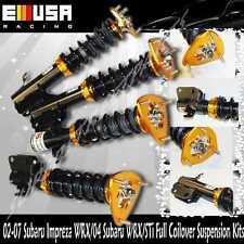 Coilover Susension Lower kits for 2002-2007 Subaru Impreza WRX Sedan 4D Wagon