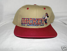 NEW WITH TAGS MICKEY MOUSE ALL AMERICAN VINTAGE SNAPBACK CAP
