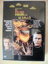 DVD El Coloso en Llamas,Paul Newman,Steve McQueen