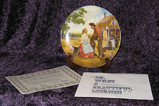 """""""OH, WHAT A BEAUTIFUL MORNING"""" Oklahoma Kunstler Art Collector Plate - With Coa"""
