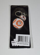 Star Wars BB-8 Keychain The Force Awakens Metal Keyring Episode 7 Licensed - NEW