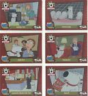 Family Guy Season 2 Complete The Life Of Brian Chase Card Set LB1-6