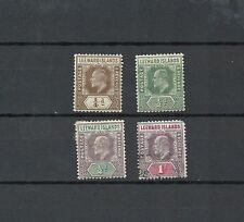 Single Edward VII (1902-1910) Leeward Islands Stamps