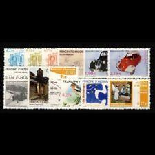 Sellos de Andorra 2004  (Correo Español). Año Completo **