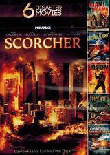 6movie DVD EPICENTER,Miami Magma,FIRESTORM,Death Flight,CountDown Armageddon