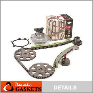 99-02 Saturn SC2 SL2 SW2 1.9L DOHC Timing Chain GMB Water Pump Kit VIN 7