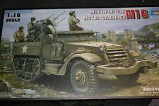 TRUMPETER 00911 - 1/16 multiple gun motor carriage m16-Neuf