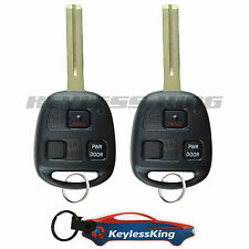 2 Replacement for 2006-2008 Lexus RX400h Key Fob Keyless Entry Car Remote