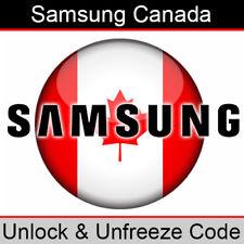 Samsung Canada Unlock & Unfreeze/PUK Code