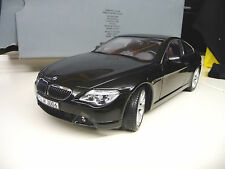 Kyosho 1:18 BMW 645 Ci 650Ci Coupe black Dealer Edition SHIPPING FREE WORLWIDE