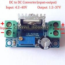 DC-DC 5v 6v 9v 12v 15v 24v adjustable Linear Step Down Voltage Regulator Module