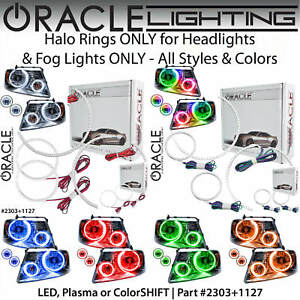 ORACLE Halo Kit for Headlights&Fog Lights for 06-08 Ford F150 Mark LT *Colors