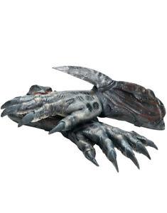 Mens Predator 2010 Predators Movie Black Latex Gloves