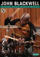 John Blackwell Hudson Music Master Series Instructional Drum DVD NEW 000320805