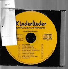 Kinderlieder zum Mitsingen und Mitmachen  1 CD / 79