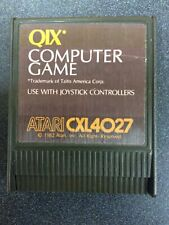 QIX GAME CARTRIDGE FOR ATARI 400/800/XL/XE