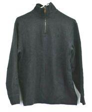 Polo Sport Ralph Lauren Mens M Long Sleeve 1/4 Zip Neck Pullover Jacket Charcoal