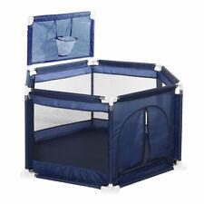 Box recinto per bambini parco giochi con canestro 4-36 mesi con rete trasparente