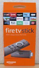Amazon - Fire TV Stick with Alexa Voice Remote (Black) BRAND NEW>FREE SHIPPING!