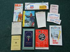Vintage Union Pacific Railroad UPRR Paper Items 1940s-1980s!